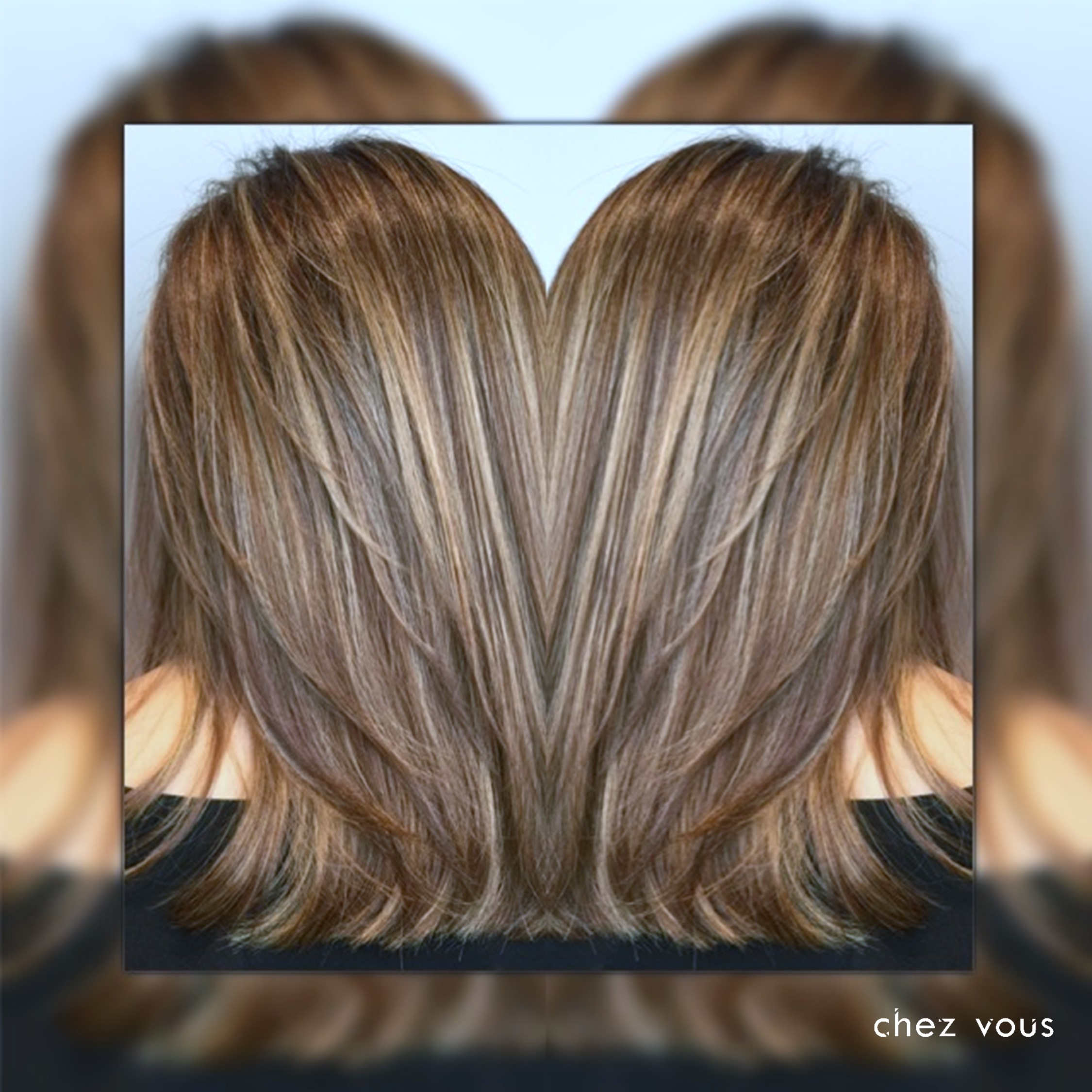 Done by Salon Director of Chez Vous: Serene Tan | Design: Babylights-infused Balayage