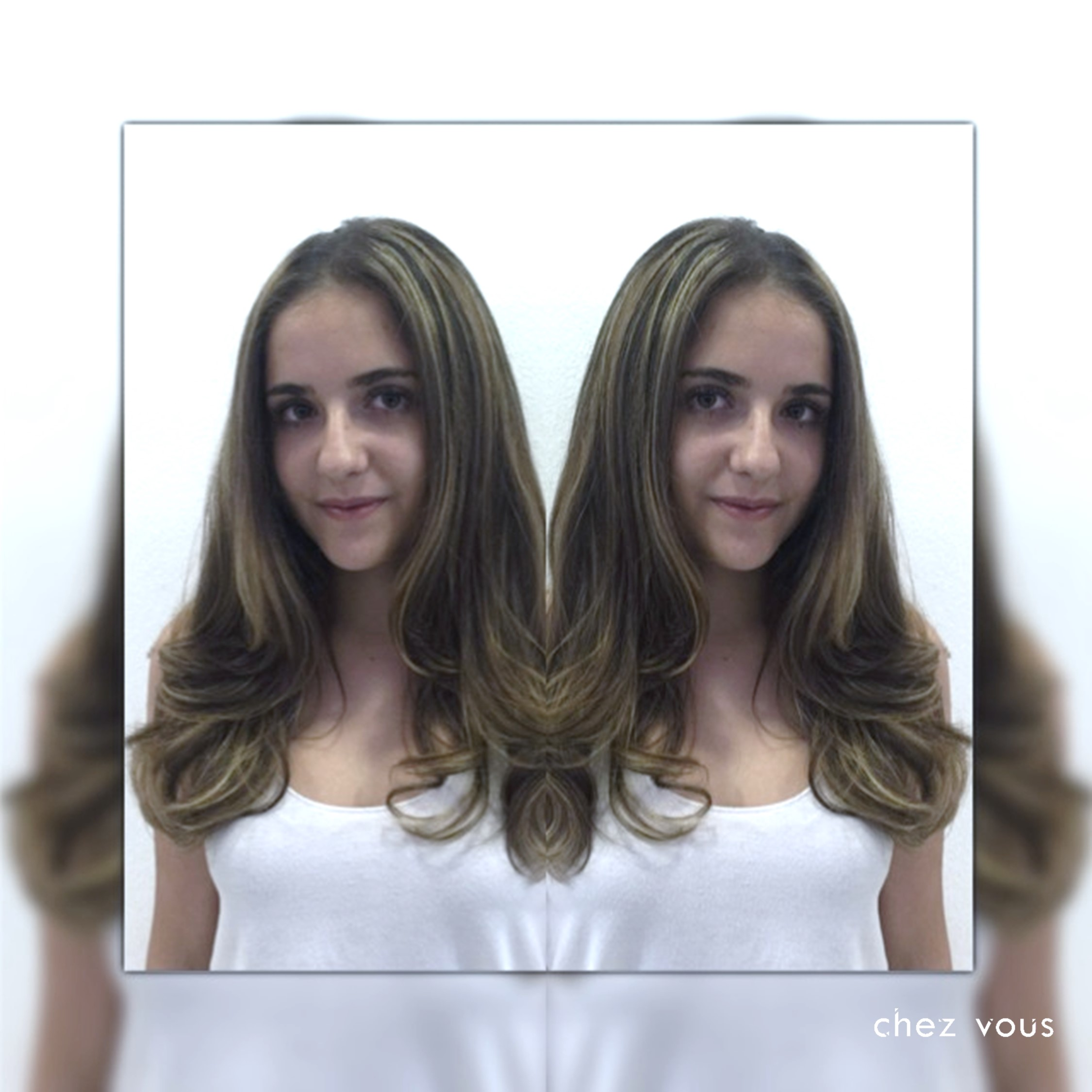 Done by Salon Director of Chez Vous: Serene Tan | Design: Melted Ash Brown Balayage Version II