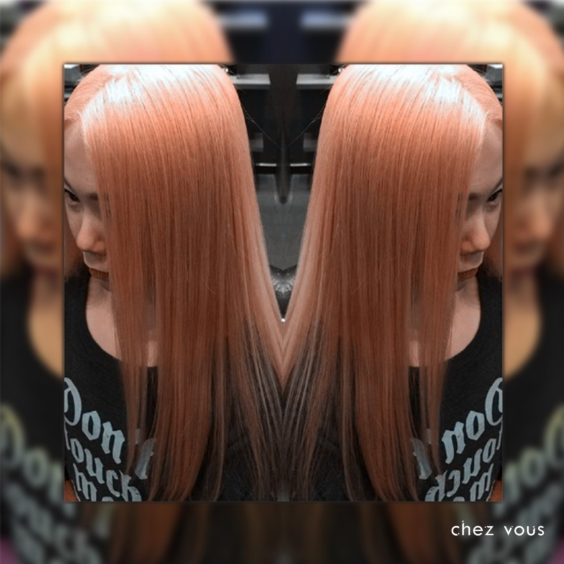 Done in Chez Vous | Design: Rose Gold Blonde