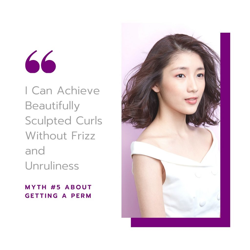 Myth #5: I Can Achieve Beautifully Sculpted Curls Without The Frizz and Unruliness