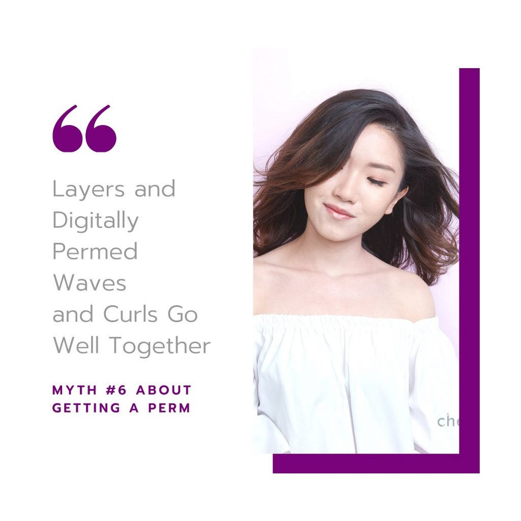 Myth #6: Layers and Digitally Permed Waves and Curls Go Well Together