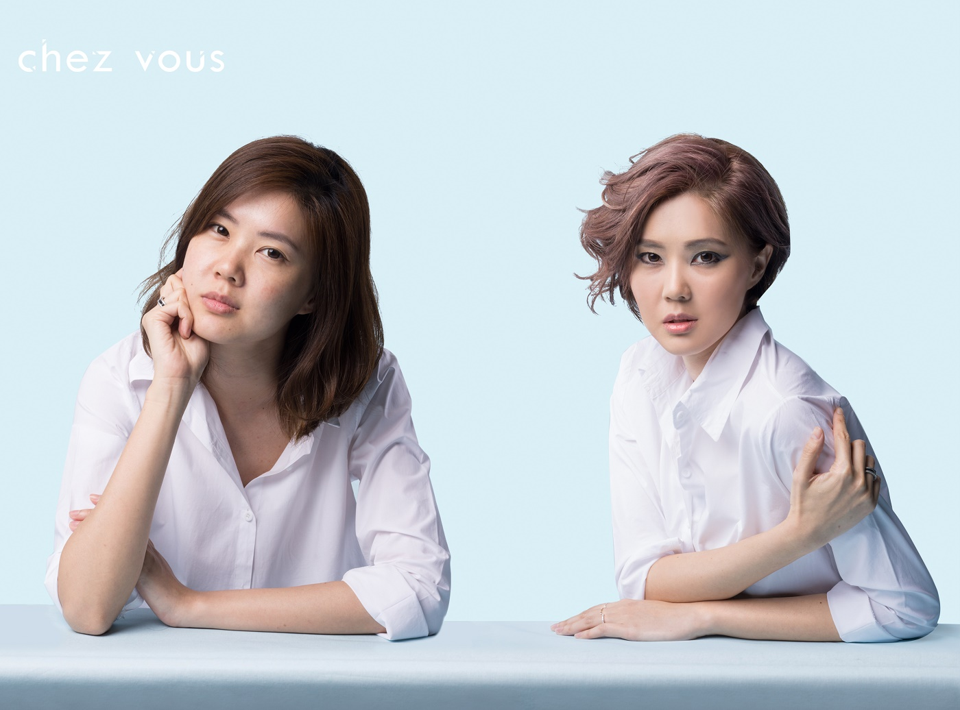Model: Annabel | Designed by: Associate Salon Director of Chez Vous, Shawn Chia | Services: Cut; Chocolate Mauve Hair Colouring