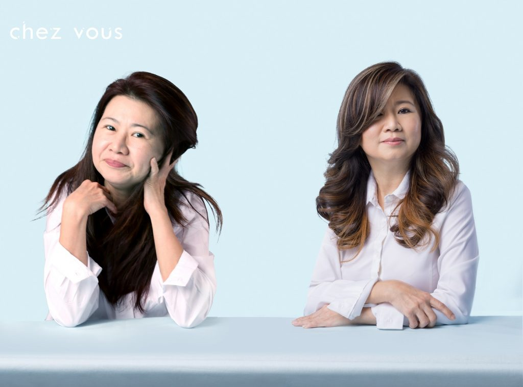 Hair Transformation by Chief Salon Director of Chez Vous, Serene Tan