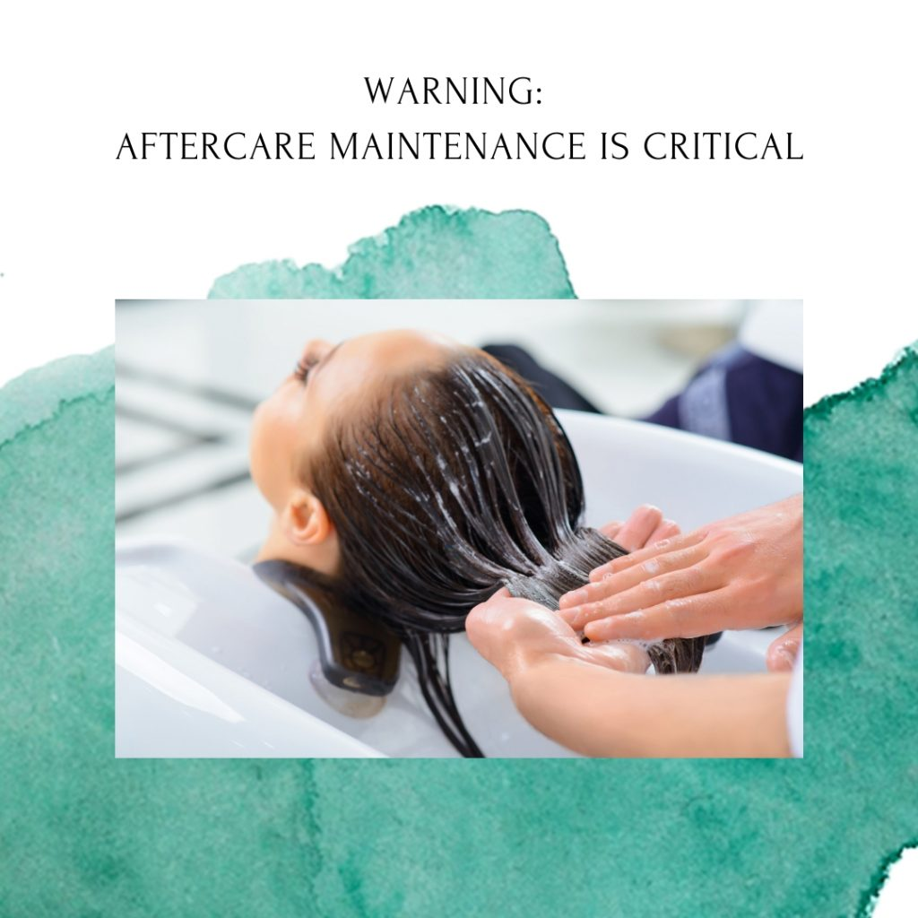 Aftercare for Rebonding is Extremely Important