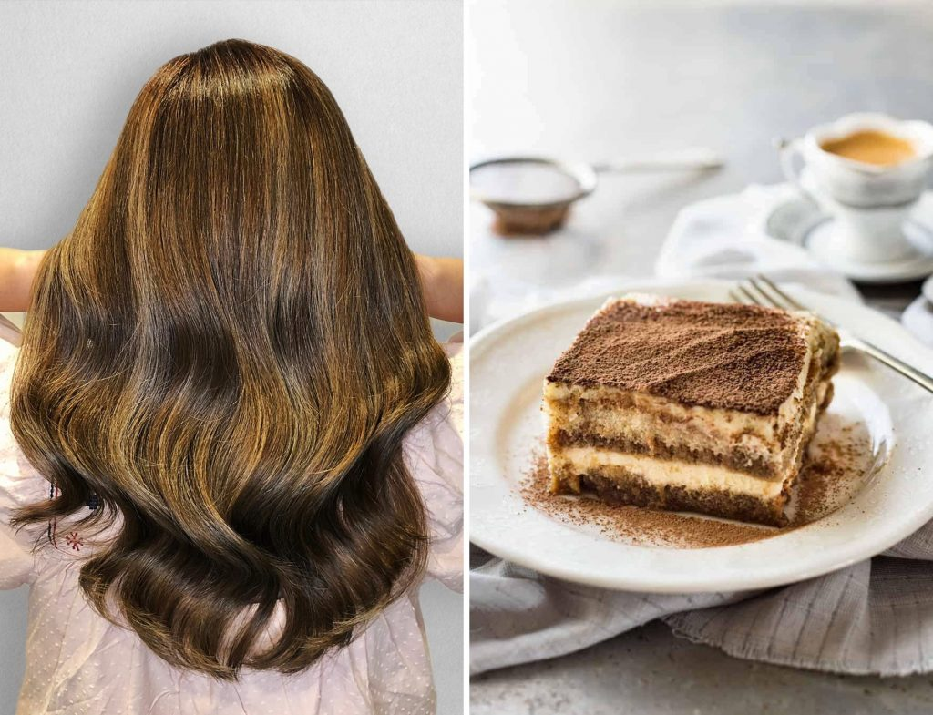 Tiramisu Brown Hair Designed by Salon Director of Chez Vous, Victor Liu
