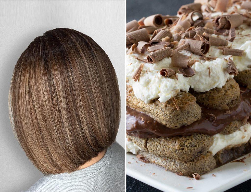 Tiramisu Brown Hair Designed by Associate Salon Director of Chez Vous, Wai Kan