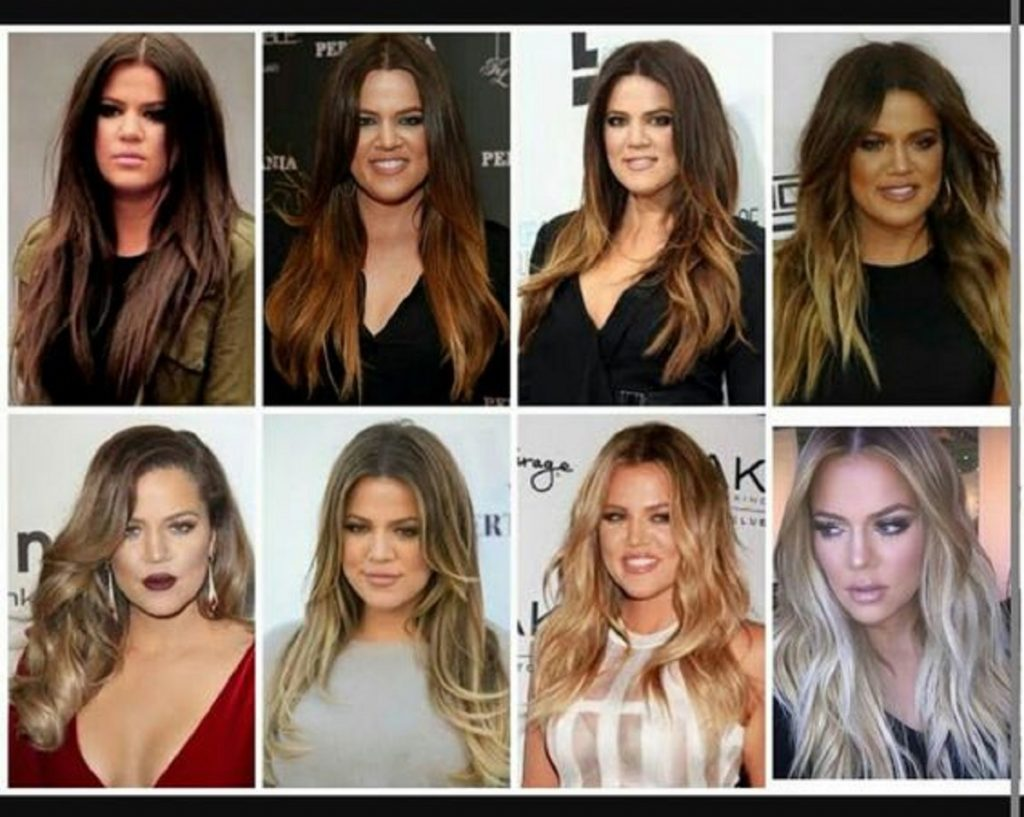 Even for someone as rich and well-resourced like Khloe Kardashian, it takes several sessions in a year to transform her hair from dark brown to pale blonde