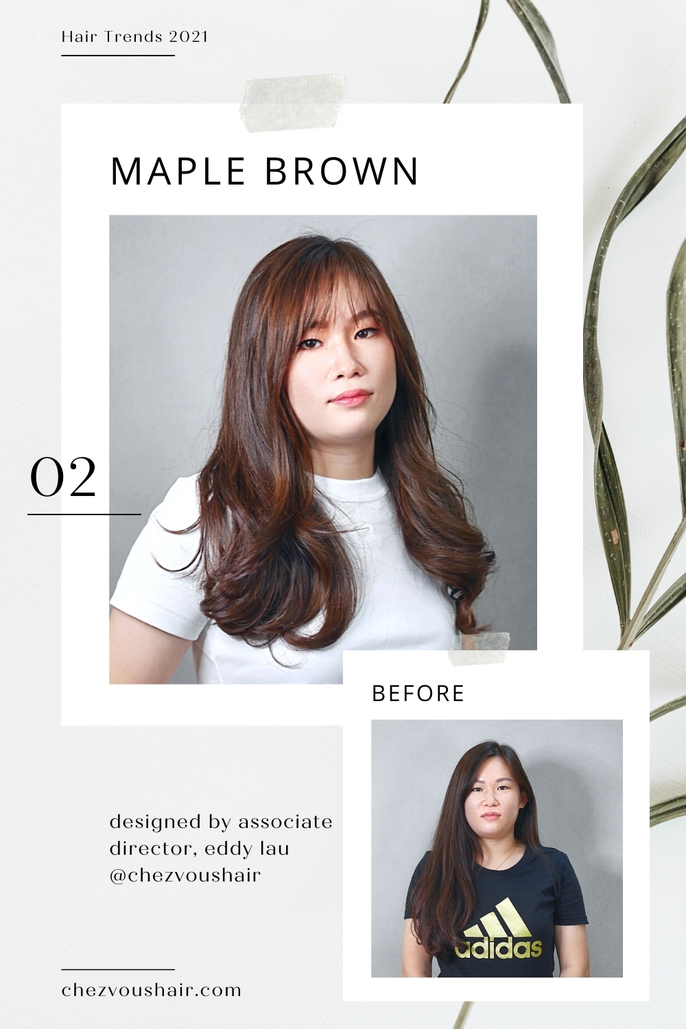 Hair Trends 2021: Maple Brown is Raging in Asia