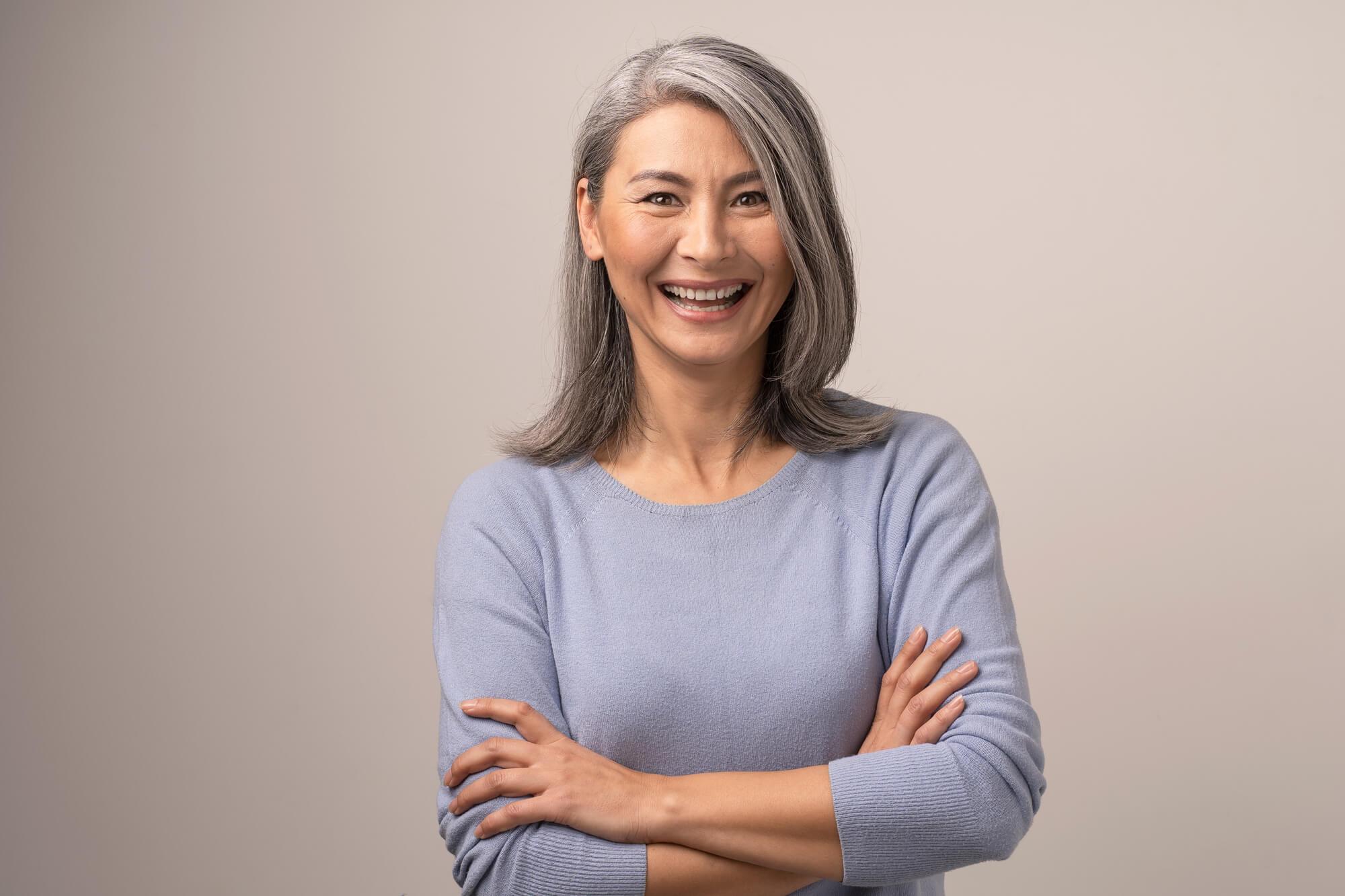Grey Hair Transitioning takes time