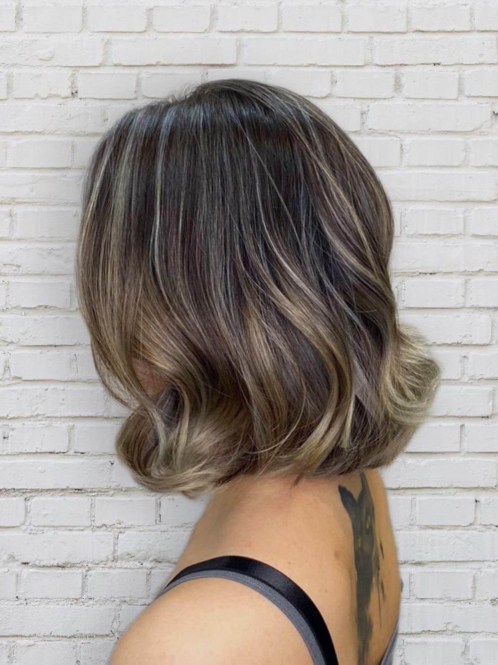 Brown Hair Colour Trend 2022: Ash Bronde Highlights