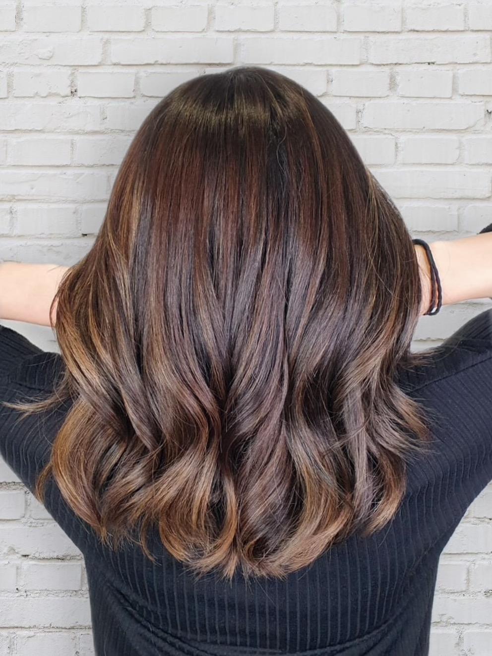 Brown Hair Colour Trend 2022: Cold Brew Hair